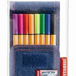 STABILO point 88 Mini - Pochette JEANS EDITION 8 stylos-feutres (Édition Limitée) de la marque STABILO image 2 produit