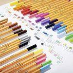 STABILO point 88 - Pochette de 10 stylos-feutres pointe fine - Coloris assortis de la marque STABILO image 3 produit