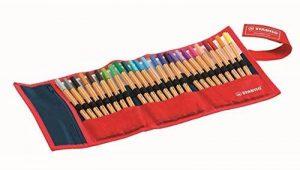 STABILO point 88 - Rollerset de 25 stylos-feutres pointe fine - Coloris assortis de la marque STABILO image 0 produit