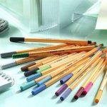 STABILO point 88 - Twin-Pack de 20 stylos-feutres pointe fine - Coloris assortis de la marque STABILO image 1 produit