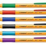 STABILO pointball - Pochette de 6 stylos bille rechargeables - Coloris assortis de la marque STABILO image 2 produit