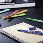STABILO pointMax - Lot de 10 stylos-feutres pointe moyenne en nylon - Noir de la marque STABILO image 4 produit