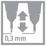 "Stabilo Sensor ""Stylo à pointe fine–Noir de la marque STABILO image 2 produit"