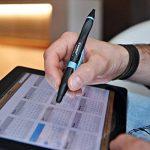 STABILO SMARTball 2.0 - Stylo-stylet ergonomique rechargeable - Droitier (encre noire) de la marque STABILO image 3 produit