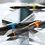 STABILO SMARTball 2.0 - Stylo-stylet ergonomique rechargeable - Gaucher (encre noire) de la marque STABILO image 4 produit