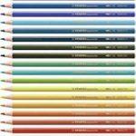 STABILOaquacolor - Boîte métal de 36 crayons de couleur aquarellables - Coloris assortis de la marque STABILO image 2 produit