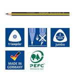 Staedtler 119 Noris Club Crayon graphite jumbo triangulaire Mine HB Boîte de 12 de la marque Staedtler image 4 produit