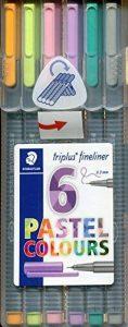 Staedtler 334 SB6CS1 Stylo Gris de la marque Staedtler image 0 produit