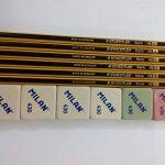 Staedtler 6crayons à papier 2HB 2et 6gommes Milan 430 de la marque Staedtler image 1 produit