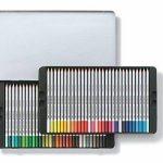 Staedtler crayons de couleur aquarellables karat, haute qualité, miscibilité des couleurs, boîte métal de 60 crayons de couleurs assortis, 125 M60 de la marque Staedtler image 2 produit