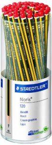 Staedtler crayons à papier Noris, haute qualité, extrêmenent résistant au bris, pour l'écriture et le dessin, pot de 50, 120 KP50 de la marque Staedtler image 0 produit