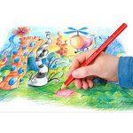 Staedtler - Ergosoft Jumbo 158 - Etui Chevalet Box 6 Crayons de Couleur Triangulaires Gros Module Assortis de la marque Staedtler image 4 produit