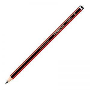 Staedtler Lot de 12 110-4B Crayons à papier Noir de la marque Staedtler image 0 produit