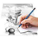 Staedtler - Mars Lumograph 100 - Boîte Métal 12 Crayons Graphite Assortis (6B/5B/4B/3B/2B/B/HB/F/H/2H/3H/4H) de la marque Staedtler image 3 produit