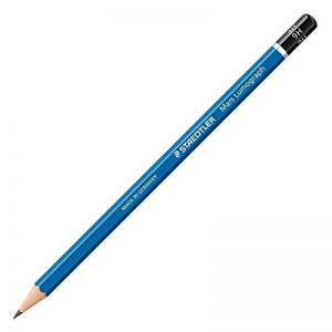 Staedtler Mars Lumograph 100B-9H Crayon à papier de grande qualité Dureté 9H Lot de 12en étui en carton de la marque Staedtler image 0 produit
