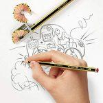 Staedtler Noris 110, crayon graphite extrêmement résistant, Pour l'écriture, le dessin et les croquis, pack de 10 crayons HB 2 mm, 120-2 BK10 de la marque Staedtler image 2 produit