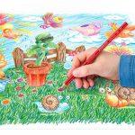 Staedtler Noris 144, Crayon de couleur de haute qualité, Pour coloriage enfant et adulte, Set de 24 couleurs vives, mine douce 3 mm, 144NC24 de la marque Staedtler image 3 produit