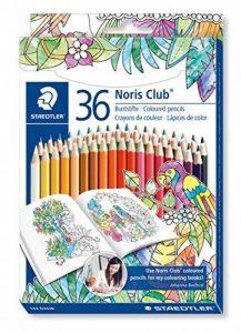 Staedtler Noris 144, Crayon de Couleur de Haute Qualité, pour Coloriage Enfant et Adulte, Set de 36 Couleurs Vives, Mine Douce 3 mm, 144 D36JB de la marque Staedtler image 0 produit