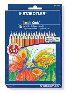 Staedtler Noris 144, Crayon de couleur de haute qualité, Pour coloriage enfant et adulte, Set de 36 couleurs vives, mine douce 3 mm, 144 ND36 de la marque Staedtler image 0 produit