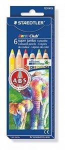 Staedtler - Noris Club 1287 - Etui Carton 6 Crayons de Couleur Gros Module Assortis de la marque Staedtler image 0 produit