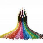 Staedtler Noris Colour 185, Crayon de Couleur avec Mine Ultra Résistante, pour Coloriage enfant, Set de 24 Couleurs Vives, Mine Douce 3 mm, 185 C24JB de la marque Noris image 3 produit