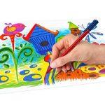 Staedtler Triplus color 323, Feutre de haute qualité, Pour écriture, dessin et coloriage, Set de 26 couleurs lumineuses, pointe moyenne 1 mm, 323 TB26JB de la marque Staedtler image 4 produit