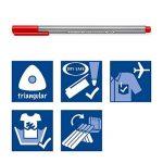 Staedtler Triplus fineliner, Feutre superfin de haute qualité, Pour écriture, dessin et coloriage, pointe extrafine 0.3 mm, Set de 36 couleurs lumineuses, 334 C36JB de la marque Staedtler image 6 produit