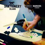 Stationery Island Feutre Textile – Feutre Tissu Permanents Double Pointe 11 Couleurs dans un Pack de 6 de la marque Stationery Island image 5 produit