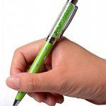 Stylet à écran tactile capacitif 2-en-1 et stylo à bille avec cristaux Swarovski. Recharge gratuite pour un stylo (BLANC) de la marque NEO+ image 1 produit