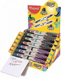stylo 4 couleurs maped TOP 0 image 0 produit