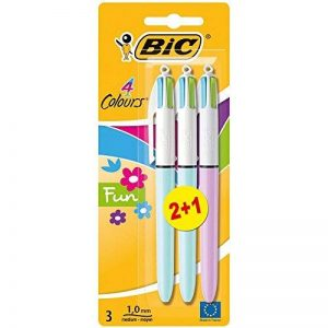 stylo bic violet TOP 1 image 0 produit