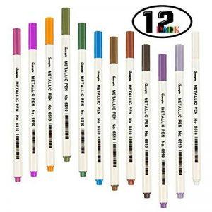 stylo écriture blanche TOP 8 image 0 produit