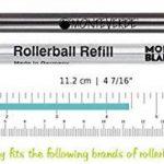 Stylo de recharges qui tiennent les stylos à bille Mont-blanc à génération de lignes solitaire, Noblesse, scenum, Bohème, classique et Starwalker de la marque NEO+ image 1 produit