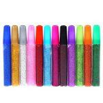Stylo à encre gel 10pièces Xshelley Set-gel Couleur stylos Flash Poudre Flash Colle Paillettes Colle de la marque Xshelley image 2 produit