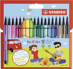 stylo feutre stabilo pen 68 TOP 3 image 0 produit