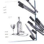 stylo noir pour dessin TOP 8 image 3 produit