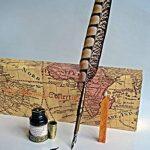 Stylo-plume Antique à tige en cuivre et embout métallique- PA-14 de la marque Hethrone image 2 produit