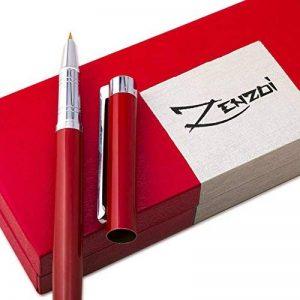 Stylo Plume avec Recharge d'encre et Coffret Cadeau - Stylos Offrant la Meilleure Caligraphie Convient aux Cartouches Standard Encre - Garantie 100% de la marque ZenZoi image 0 produit