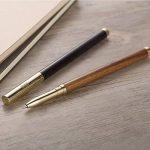 Stylos Billes, Stylos Roller Premium Plumes Luxe avec Pointe Fine 0.5- Dans son écrin de la marque Brassmaster image 4 produit