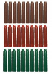 Taille 30PCS Jinhao internationale Pen Cartouche d'encre to Fit Stylo plume, Marron, Rouge, Vert de la marque Gullor image 0 produit