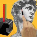 Taille-crayon électrique, alimenté par USB ou affûteuse électronique automatique résistante à piles pour le crayon No.2 et coloré de la marque ARPDJK image 6 produit