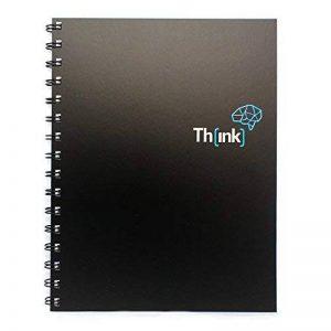 Th[ink] - Carnet à spirale avec grille de pointillés A5 de la marque Creoly image 0 produit
