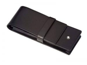 Three for [MONTBLANC Mont Blanc pen pouch 30303] Black (japan import) de la marque Montblanc image 0 produit