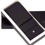 Three for [MONTBLANC Mont Blanc pen pouch 30303] Black (japan import) de la marque Montblanc image 1 produit