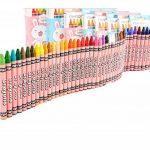 TININNA Lot de 48 Stylos de Couleur Crayons Sécurité en Cire Pastels à l'huile Boîte de Marqueur Pen pour Enfant Bébé Jouet Aquarelle Peinture Rose de la marque TININNA image 1 produit