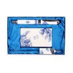 Titulaire de la carte Dragons Motif chinois Céramique Rollerball Pen et Bookmark de la marque Blancho image 1 produit