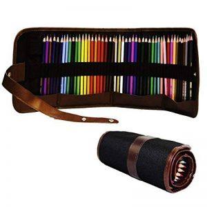 toechmo professionnel Crayons de couleur de haute qualité pour enfants et adultes Coloration et toutes les couleurs Crayon Art–Coloration Dessin Crayons, crayons de couleur Art avec étui à crayons pour croquis Artiste, Secret Garden Coloration Livre (no image 0 produit