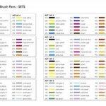 Tombow ABT-12P-1 Lot de 12 Feutres pinceau à 2 pointes, couleurs primaires de la marque Tombow image 4 produit
