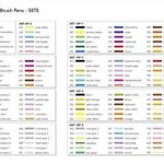 Tombow ABT-6P-3 Lot de 6 Feutres pinceau à 2 pointes, couleurs testées dermatologiquement de la marque Tombow image 3 produit
