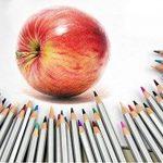 Tomkity Crayons de couleur coloriage 72 Couleurs Crayons de couleur Marco Raffiné Crayons d'Artiste Dessin coloré crayons de coloriage avec Trousse de la marque Tomkity image 3 produit